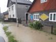 На Рахівщині злива підтопила будинок