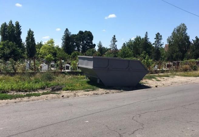 Жителі Берегова поскаржились меру на неналежний санітарний стан кладовища