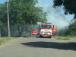 У Мукачеві у мікрорайоні Росвигово велика пожежа: відео з місця події