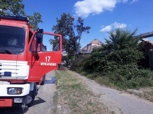 Рятувальники розповіли про пожежу, яка трапилась сьогодні в Мукачеві