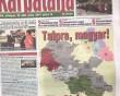СБУ відреагувала на публікацію в газеті, де частину Закарпаття візуально