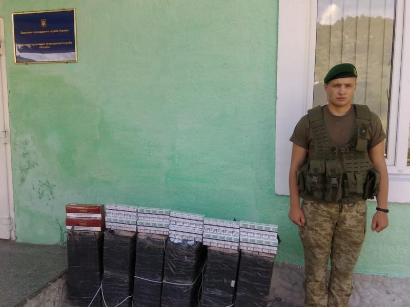 Прикордонники затримали трьох контрабандистів
