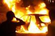 Вночі в Ужгороді горіла машина