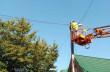 На вулицях Мукачева встановлюють лед-світильники