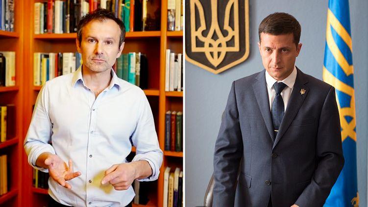 """""""Прем'єром повинен бути не політик"""", — Зеленський запросив до розмови Вакарчука"""