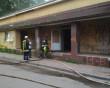 Рятувальники гасили пожежу в приміщенні колишнього кафе