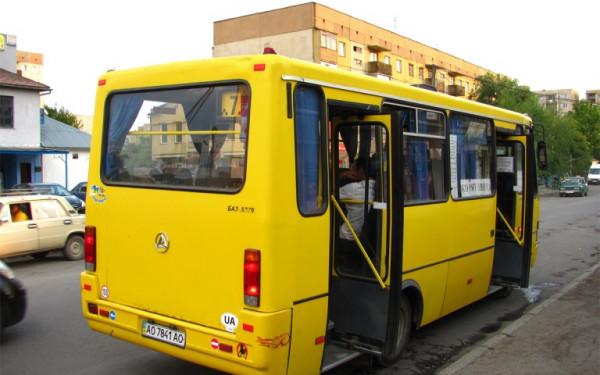 Вартість проїзду у міських маршрутках Ужгорода наступного тижня зросте