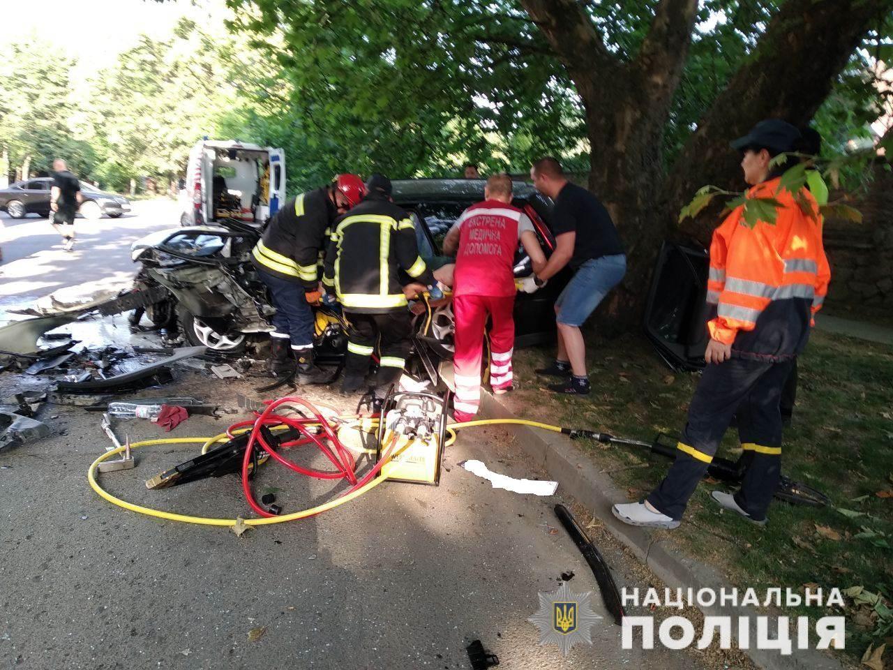 Мажорна ДТП в Ужгороді: стан постраждалого значно покращився