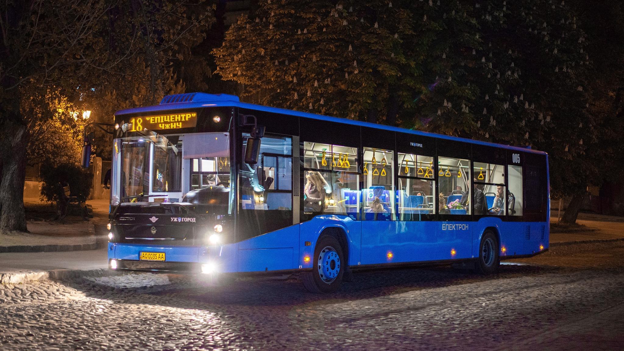 """В Ужгороді буде курсувати ще один """"наскрізний"""" автобусний маршрут"""