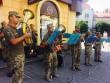 У центрі Мукачева виступав військовий оркестр