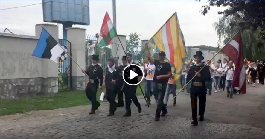 У Мукачеві стартував парад сажотрусів