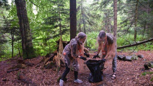 Українці розробили додаток, який сприятиме очищенню Карпат від сміття