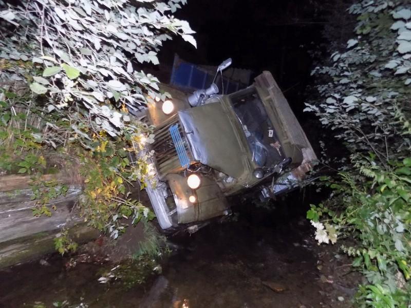 Машина перекинулася в річку: вночі сталася смертельна аварія