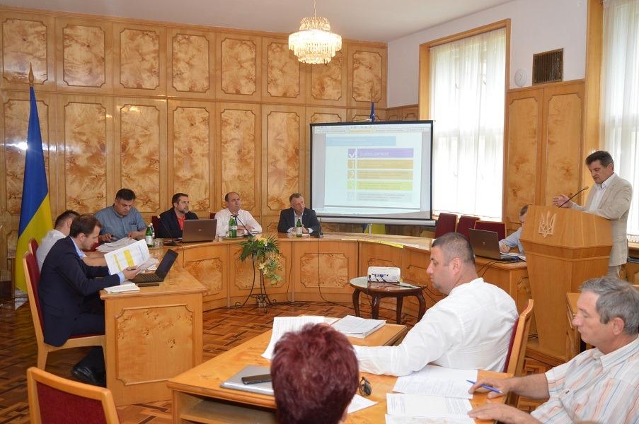 Чиновники обговорили новий адміністративно-територіальний устрій Закарпаття