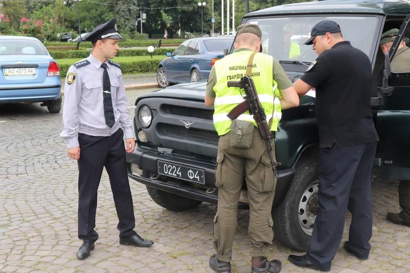 Із 1 серпня вулиці Ужгорода патрулюють Нацгвардійці
