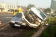 З'явилось відео з місця аварії у Ракошині