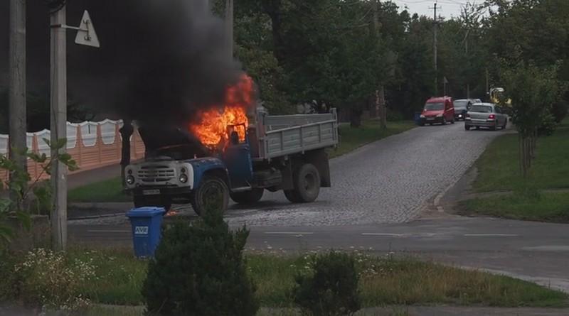 У Мукачеві поблизу популярного ресторану сталась пожежа