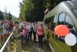 Тимчасовий пішохідно-велосипедний перехід «Лубня – Волосате» за три дні перетнули понад 1600 людей