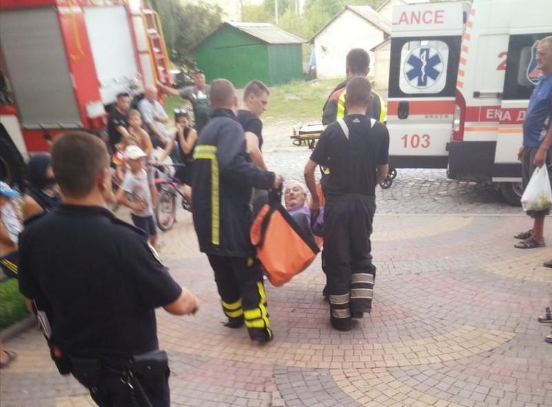 Сьогодні в області врятували чоловіка від смерті