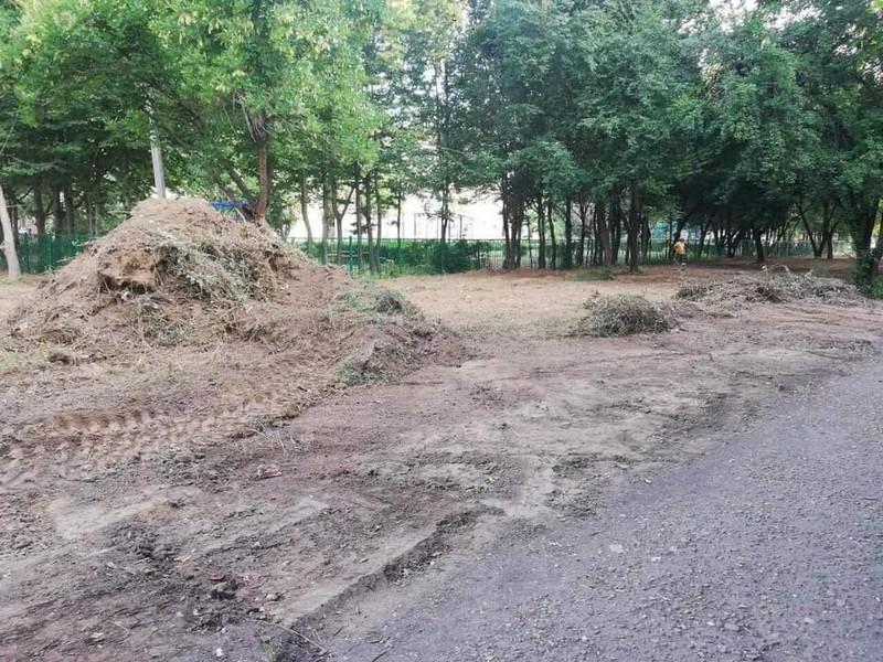 У Мукачеві розпочинається будівництво нового скверу