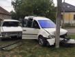 У Мукачеві зіткнулись два авто. Постраждало троє людей