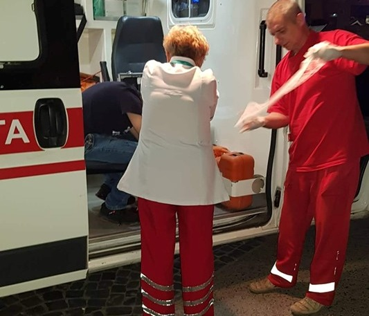 Відомо, що трапилось із хлопцем, який стікав кров'ю в центрі Ужгорода