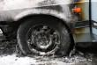 В Ужгороді за поки нез'ясованих обставин загорівся автомобіль