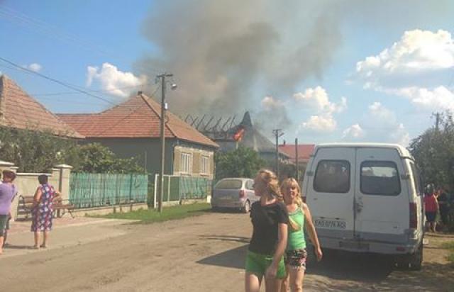 У Горонді загорівся ще один будинок