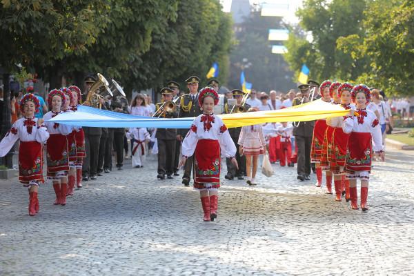 У Мукачеві відзначили День Державного Прапора та 28-у річницю незалежності України