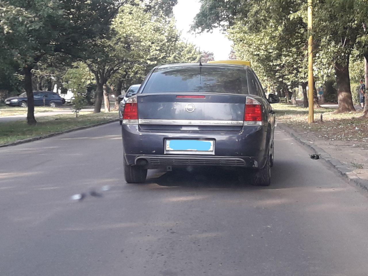 В Ужгороді авто наїхало на пішохода