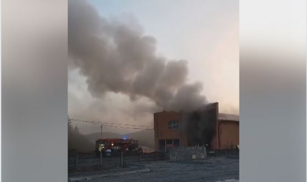 В Іршаві біля готельно-ресторанного комплексу сталась пожежа