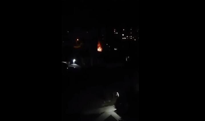 Біля одного з корпусів УжНУ трапилась пожежа: відео з місця події