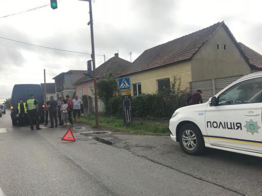Оприлюднено фото з місця аварії у Ракошині