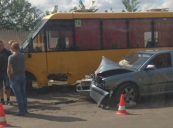 Аварія на БАМі в Ужгороді біля головного корпусу УжНУ: подробиці від патрульних