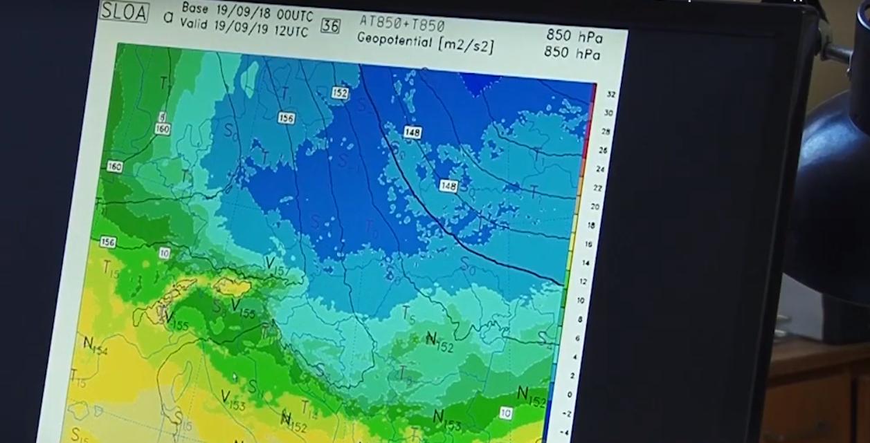 У гірських районах Закарпаття прогнозують заморозки