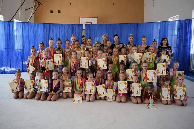 У Мукачеві провели першість із художньої гімнастики