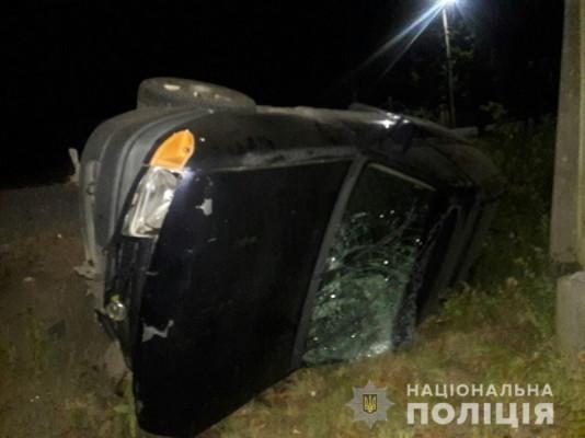 18-річний водій скоїв аварію на Мукачівщині. Є постраждалий