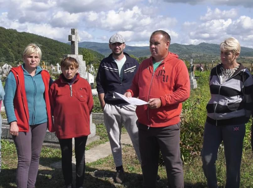 Жителі закарпатського села готують звернення до Володимира Зеленського