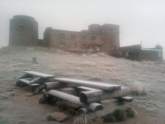 У горах Закарпаття мороз і знову падає дрібний сніг