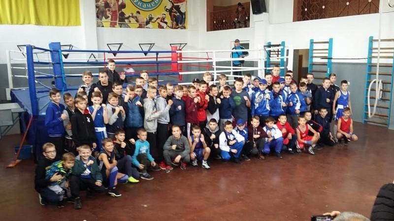 У Мукачеві змагались юні боксери