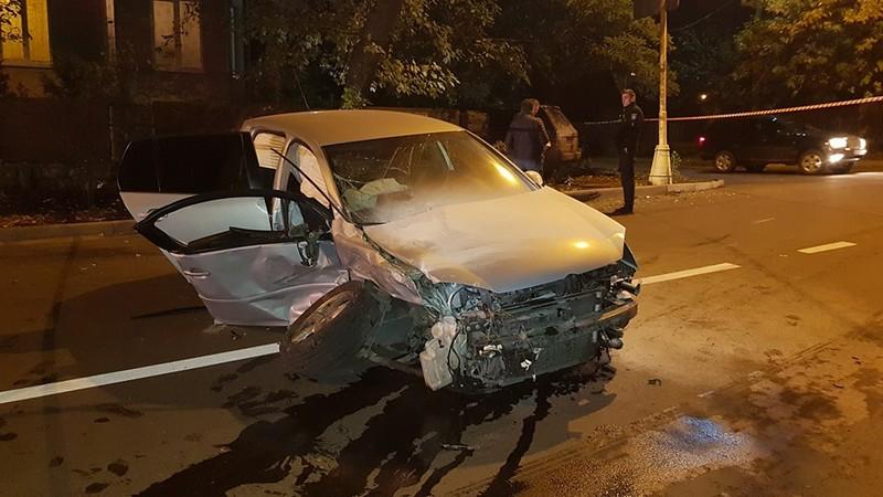 Вечірня аварія в Ужгороді: оприлюднено відео