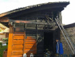 У Виноградові врятували від знищення будинок і гараж