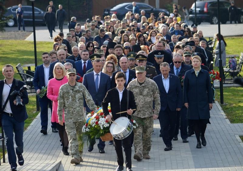 На Закарпатті вшанували загиблих захисників України