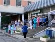Горить лікарня: персонал та пацієнтів евакуювали