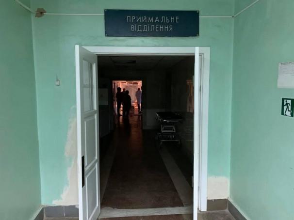 Оприлюднено фото з місця пожежі в Ужгородській міській лікарні