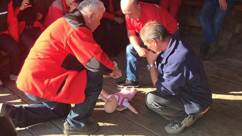 В області стартували дводенні навчання гірських рятувальників