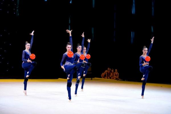 Чемпіонат України з художньої гімнастики проходить в Ужгороді