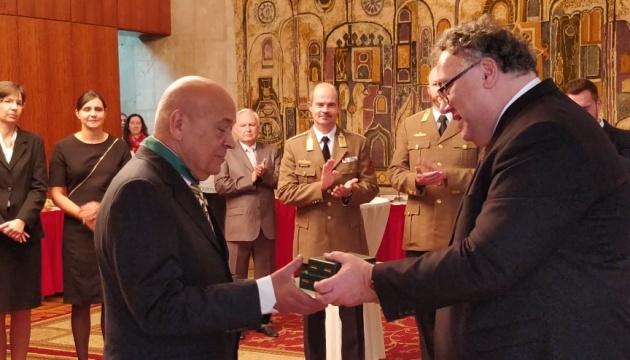 Геннадію Москалю вручили державну нагороду в Угорщині