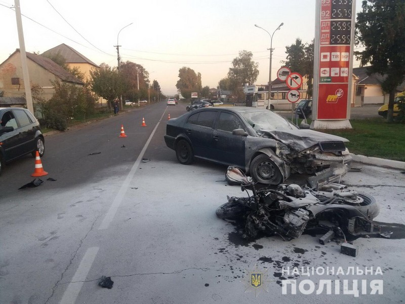 Винуватицею смертельної аварії у Мукачеві стала жінка