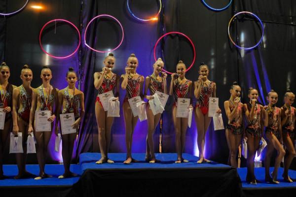 В Ужгороді завершується чемпіонат України з художньої гімнастики